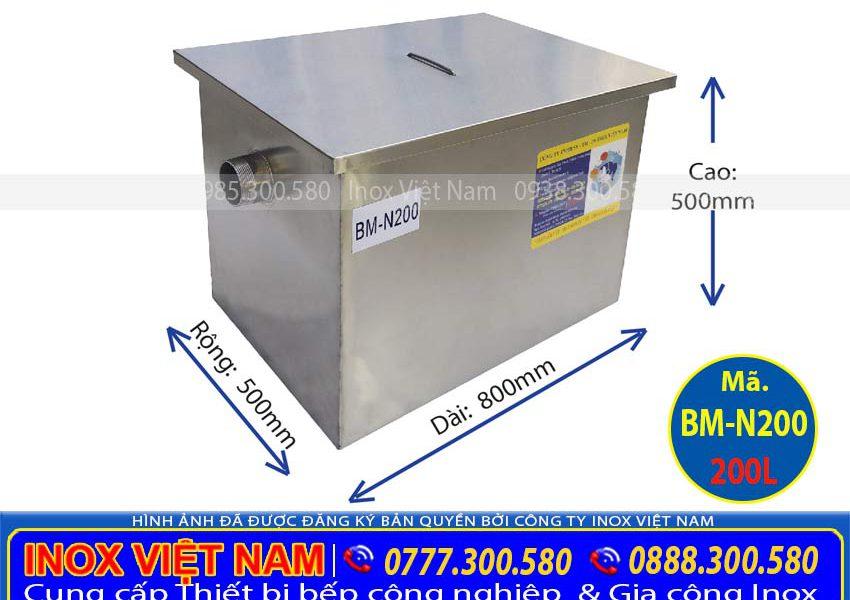 thung-tach-mo-cong-nghiep-200-lit-bm-n200
